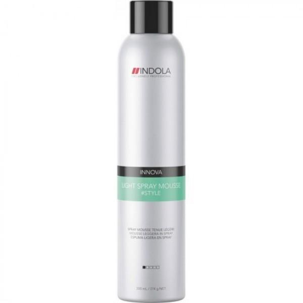 Легкий спрей-мусс для укладки волос