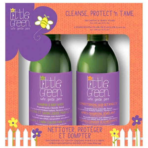 Набор для детей (шампунь для волос и тела + спрей кондиционер)
