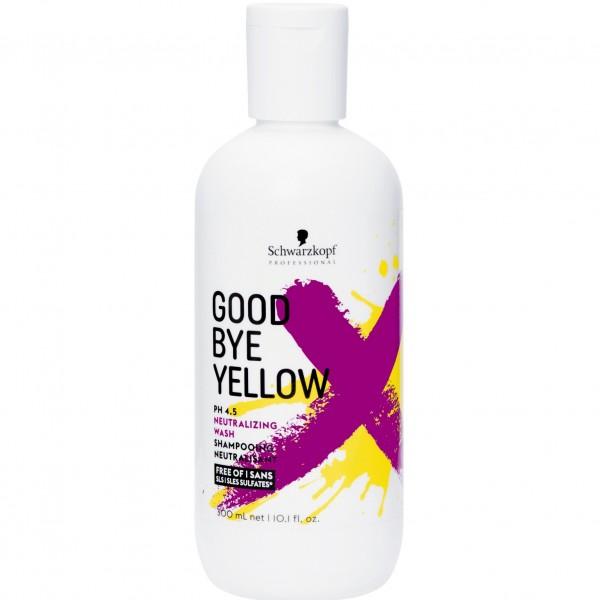 Безсульфатный шампунь с анти-жёлтым эффектом для окрашенных волос