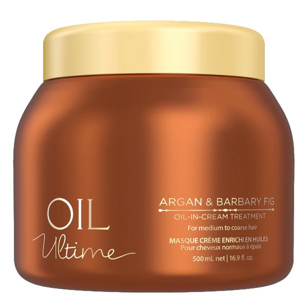 Маска с маслом арганы и берберийской фиги для жестких волос