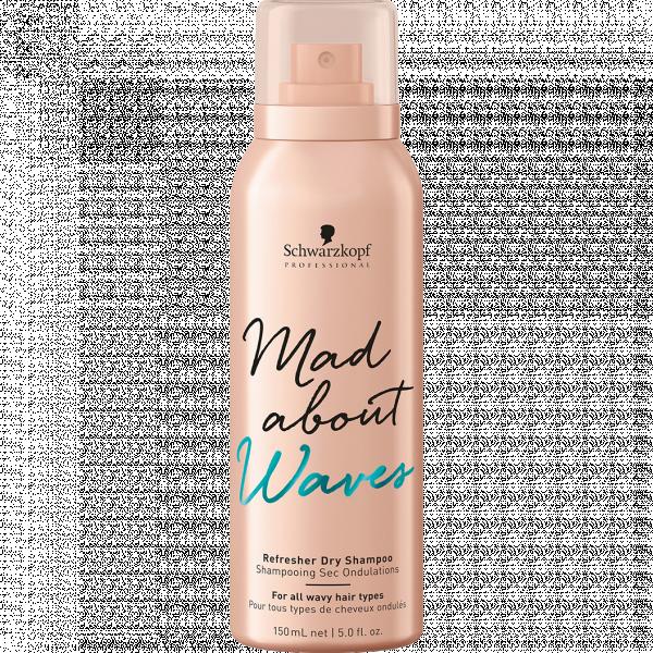 Освежающий сухой шампунь для вьющихся волос