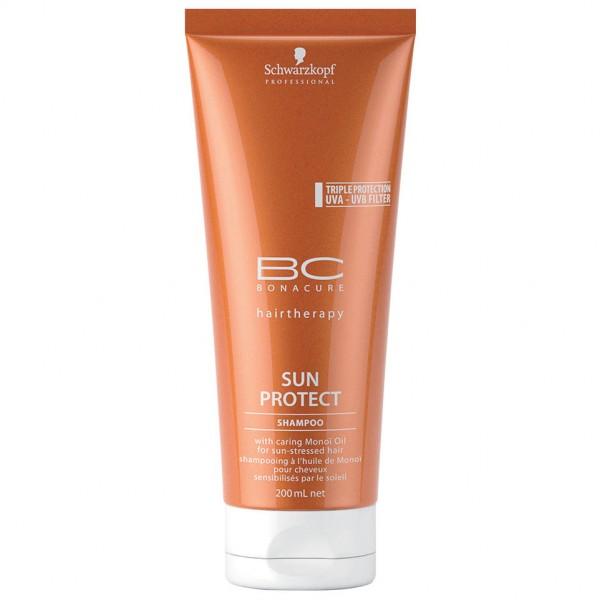 Шампунь для защиты волос от солнечного излучения
