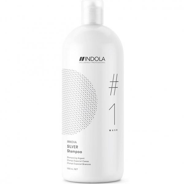 Шампунь для фарбованого волосся з сріблястим ефектом