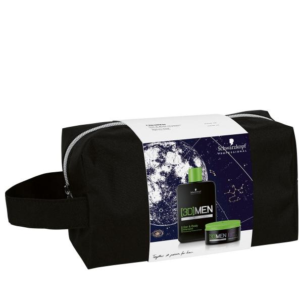 Набор 3DMen X-mas Bag (Шампунь 250ml + Тестурирующая глина 100ml)