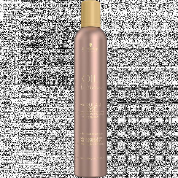 Маска-мус з маслом марули і троянди для тонких і нормального волосся