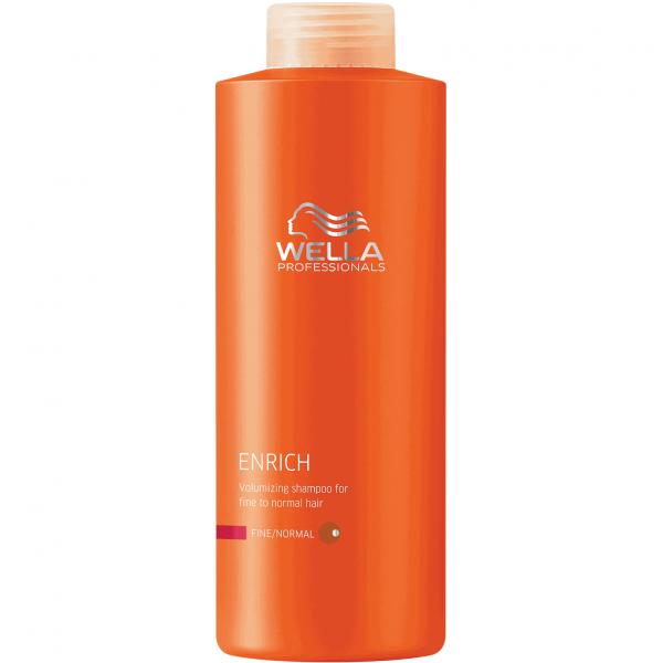 Питательный шампунь для нормальных и тонких волос