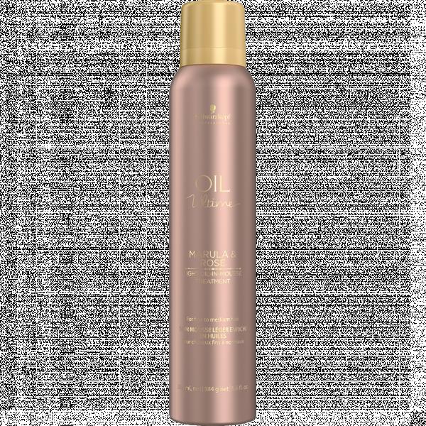Маска-мусс с маслом марулы и розы для тонких и нормальных волос