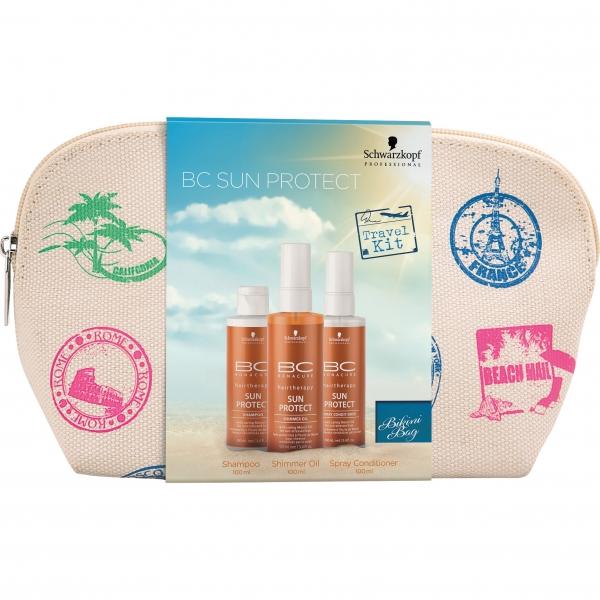 Travel-набор для защиты волос от солнца 3в1