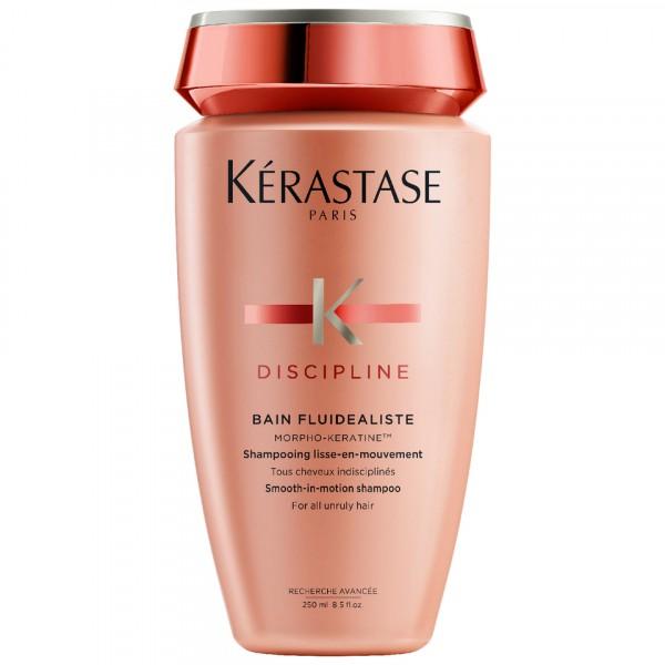 Безсульфатный шампунь-ванна для разглаживания непослушных волос