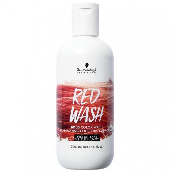 Пигментированный шампунь для волос Красный NEW!
