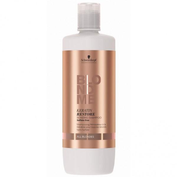 Бондінг-шампунь кератинове відновлення для всіх відтінків блонд