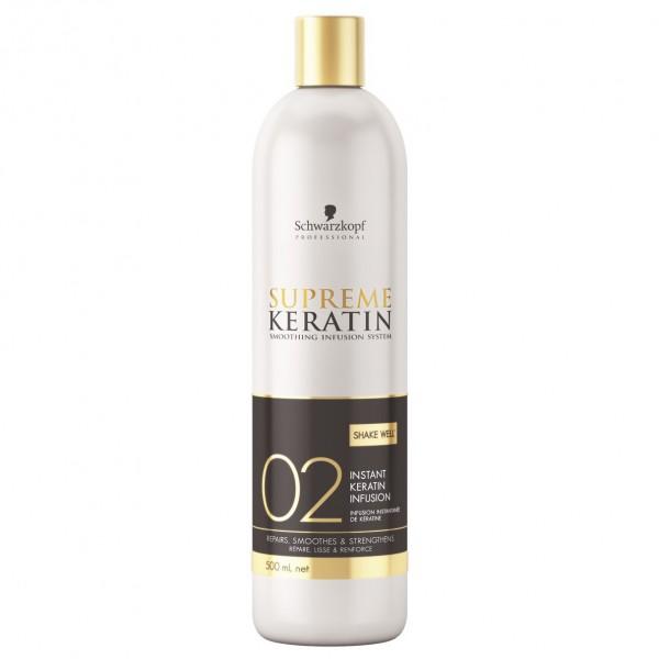 Молочко для процедуры кератинового выпрямления волос