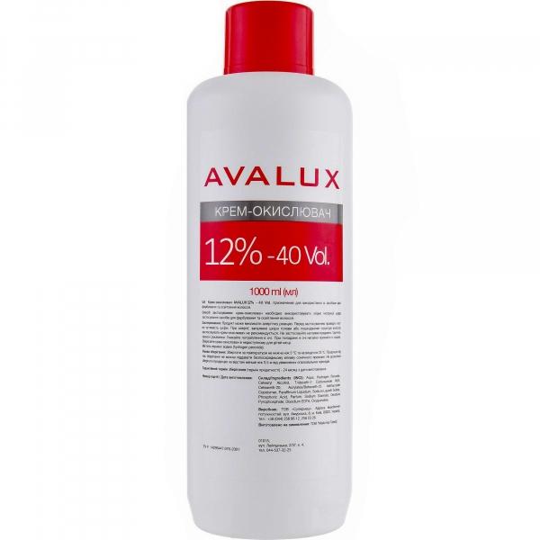 Новинка! Окислитель-активатор Avalux 12%
