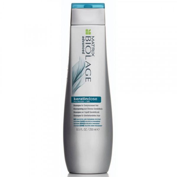 Шампунь для восстановления волос с кератином