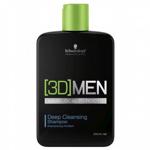 Шампунь для чоловіків для глибокого очищення волосся