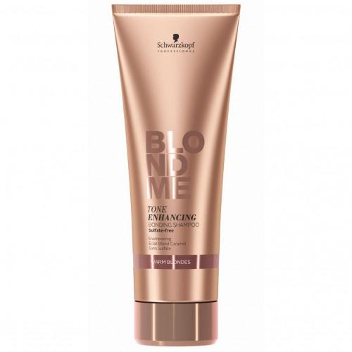 Бондинг-шампунь для теплих відтінків блонд