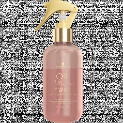 Спрей-кондиционер с маслом марулы и розы для тонких и нормальных волос