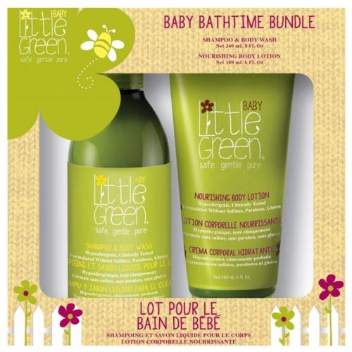 Набор для малышей (шампунь для волос и тела + питательный лосьон)