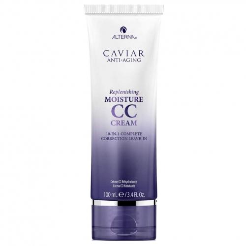 Несмываемый термозащитный CC крем для увлажнения и восстановления волос